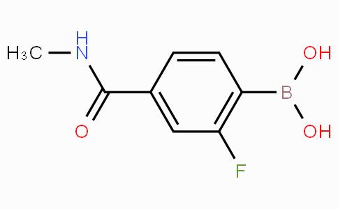 4-(N-Methylaminocarbonyl)-2-fluorophenylboronic acid