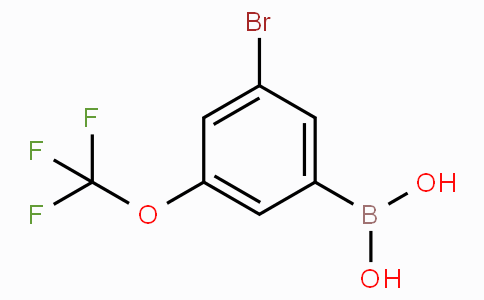 3-Bromo-5-(trifluoromethoxy)phenylboronic acid