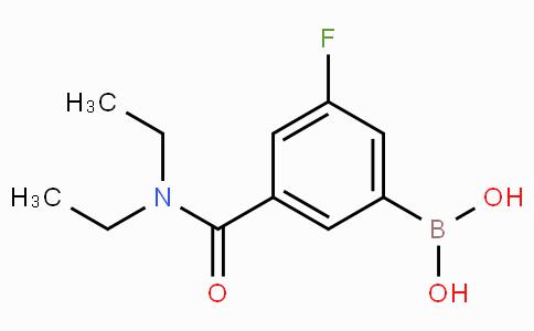 3-Fluoro-5-(diethylcarbamoyl)phenylboronic acid