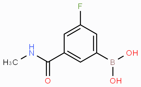 3-Fluoro-5-(methylcarbamoyl)phenylboronic acid