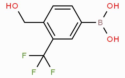 4-(Hydroxymethyl)-3-(trifluoromethyl)phenylboronic acid