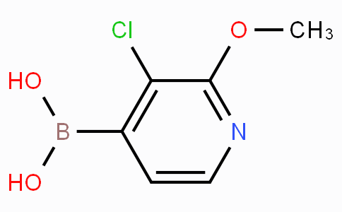 3-Chloro-2-methoxypyridine-4-boronic acid
