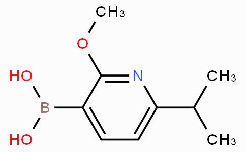 2-Methoxy-6-isopropyl-3-pyridylboronic acid