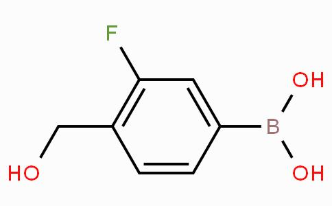 3-Fluoro-4-hydroxymethylbenzeneboronic acid