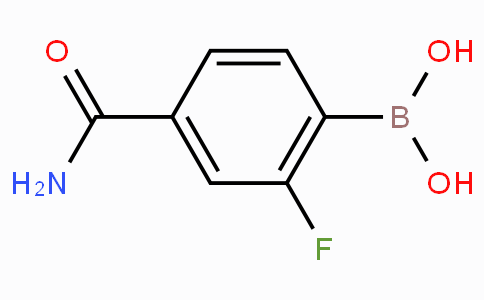 4-Carbamoyl-2-fluorophenylboronic acid