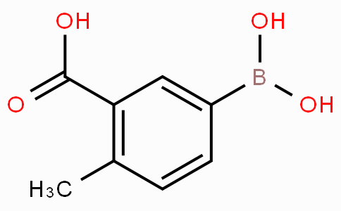 3-Carboxy-4-methylphenylboronic acid
