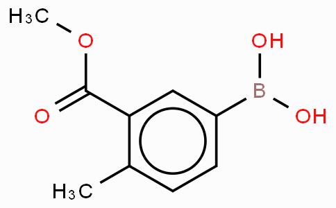 Benzoic acid, 5-borono-2-methyl-, 1-methyl ester