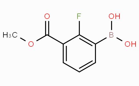 2-Fluoro-3-(methoxycarbonyl)phenylboronic acid