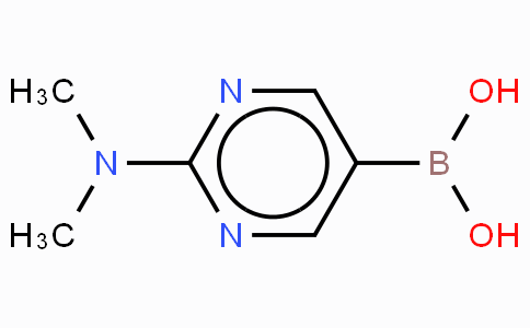 2-Dimethylaminopyrimidinyl-5-boronic acid