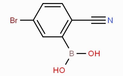 5-Bromo-2-cyanophenylboronic acid