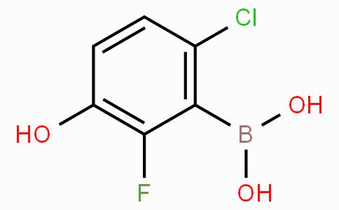 2-Chloro-6-fluoro-5-hydroxyphenylboronic acid