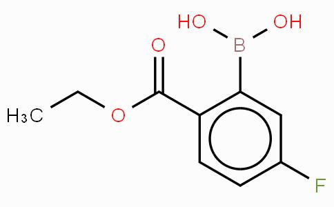 2-Ethoxycabonyl-5-fluorophenylboronic acid