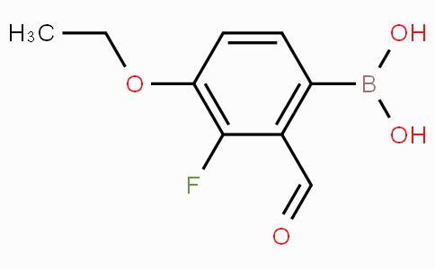4-Ethoxy-3-fluoro-2-formylphenylboronic acid