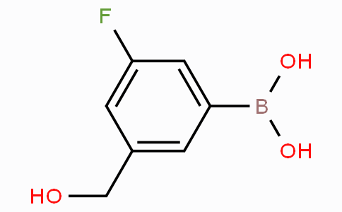3-Fluoro-5-(hydroxymethyl)phenylboronic acid