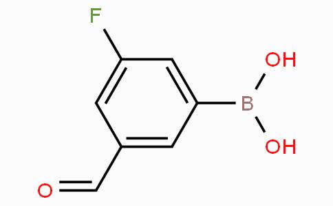 3-Fluoro-5-formylphenylboronic acid