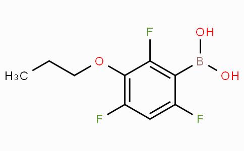 3-Propoxy-2,4,6-trifluorophenylboronic acid