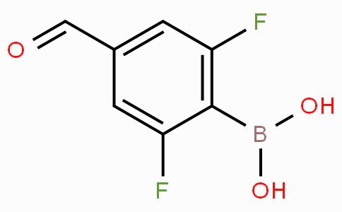 2,6-Difluoro-4-formylphenylboronic acid