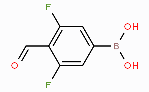 3,5-Difluoro-4-formylphenylboronic acid