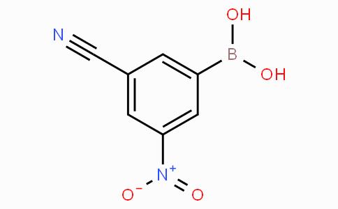 3-Cyano-5-nitrophenylboronic acid