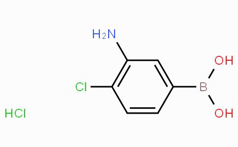 3-Amino-4-chlorophenylboronic acid hydrochloride