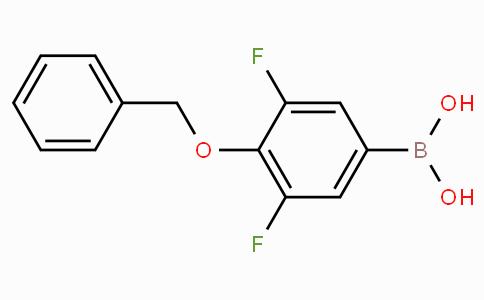 4-苄氧基-3,5-二氟苯基硼酸