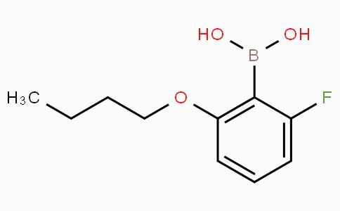 2-Butoxy-6-fluorophenylboronic acid
