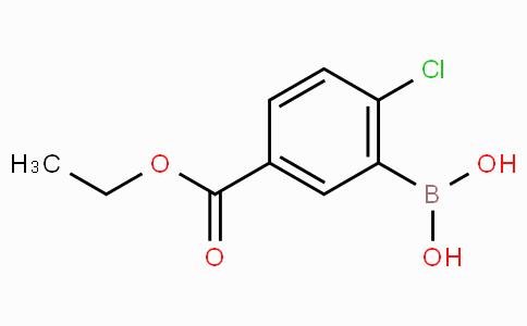 2-Chloro-5-(ethoxycarbonyl)phenylboronic acid