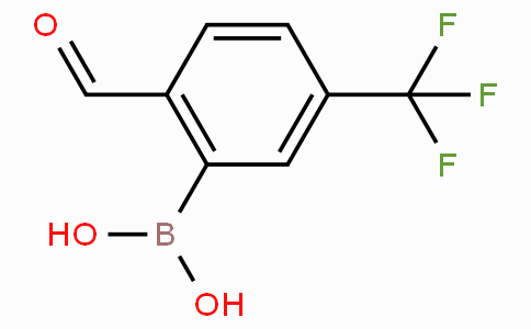 2-Formyl-5-(trifluoromethyl)phenylboronic acid