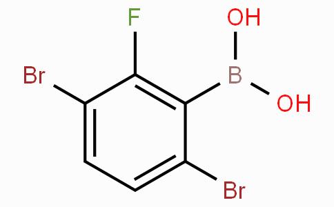 3,6-二溴-2-氟苯基硼酸