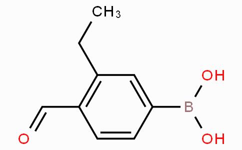 3-Ethyl-4-formylphenylboronic acid