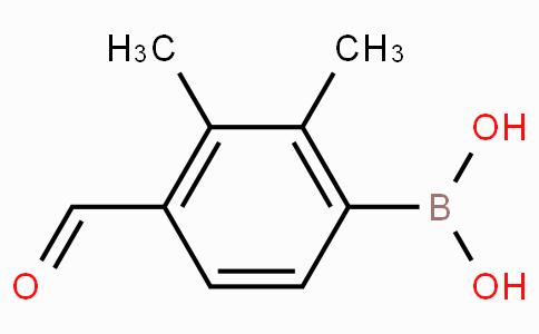 2,3-Dimethyl-4-formylphenylboronic acid