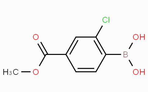 2-Chloro-4-(methoxycarbonyl)phenylboronic acid