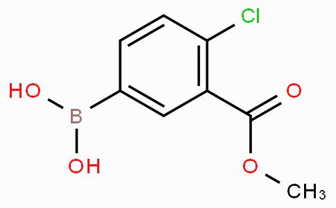 4-Chloro-3-(methoxycarbonyl)phenylboronic acid