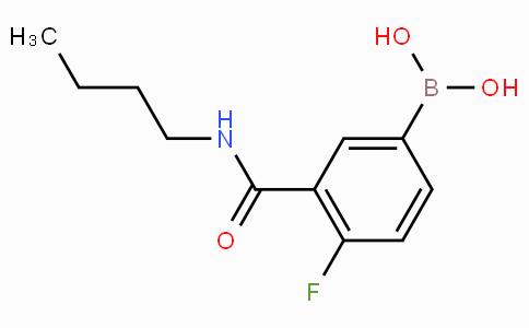 3-(N-Butylcarbamoyl)-4-fluorophenylboronic acid