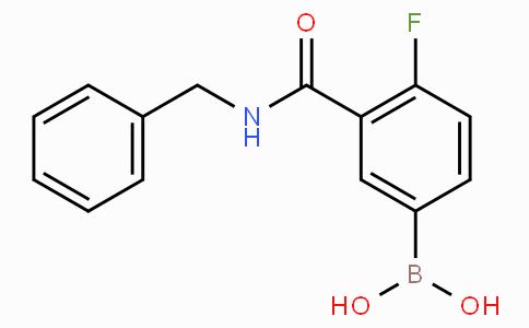 3-(Benzylcarbamoyl)-4-fluorophenylboronic acid