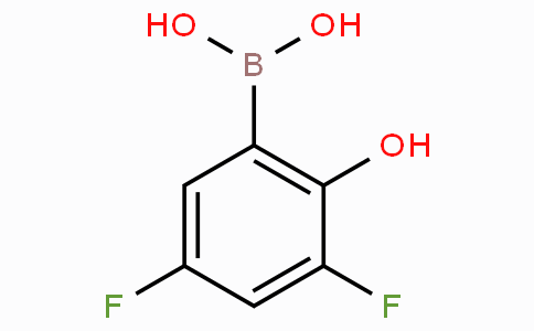 3,5-DIFLUORO-2-HYDROXYPHENYLBORONIC ACID