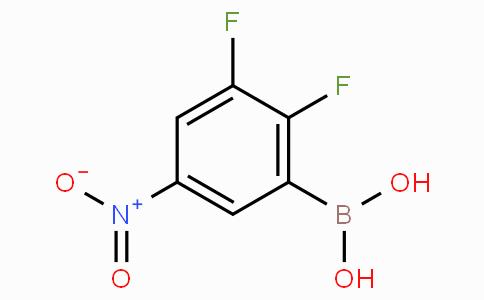 2,3-Difluoro-5-nitrophenylboronic acid