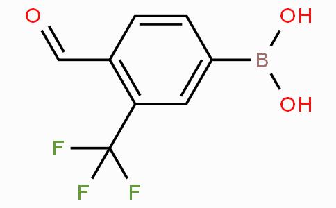 4-Formyl-3-(trifluoromethyl)phenylboronic acid