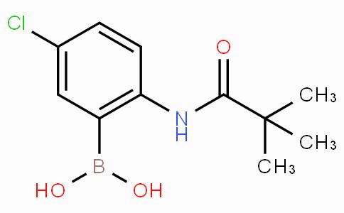 5-Chloro-2-(pivaloylamino)phenylboronic acid