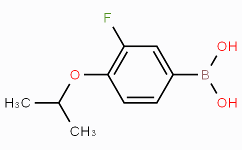3-Fluoro-4-isopropoxyphenylboronic acid