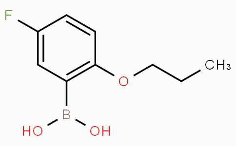 5-Fluoro-2-propoxyphenylboronic acid