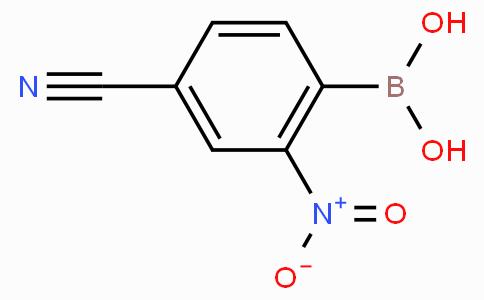4-Cyano-2-nitrophenylboronic acid