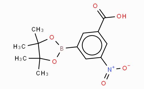 3-Carboxy-5-nitrophenylboronic acid, pinacol ester