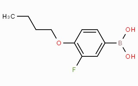 4-丁氧基-3-氟苯硼酸