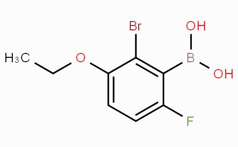 2-Bromo-3-ethoxy-6-fluorophenylboronic acid