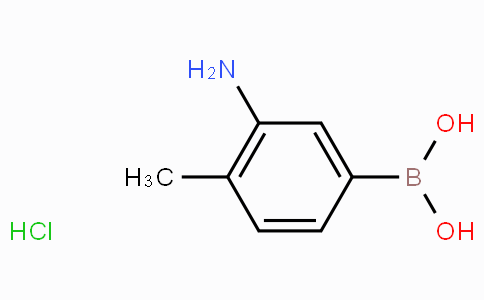3-Amino-4-methylphenylboronic acid hydrochloride