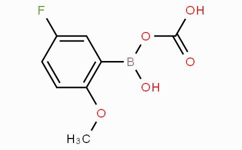 5-Fluoro-2-methoxycarboxyphenylboronic acid