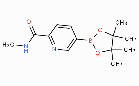 5-(4,4,5,5-Tetramethyl-[1,3,2]dioxaborolan-2-yl)-pyridine-2-carboxylic acid methylamide