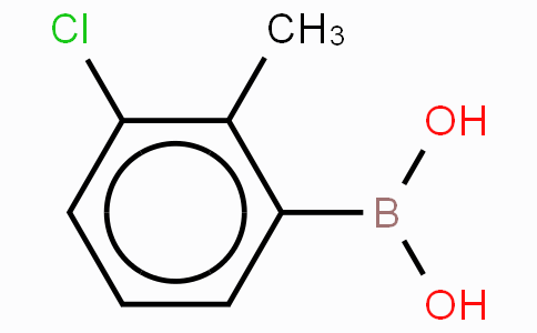 3-Chloro-2-methylphenyboronic acid
