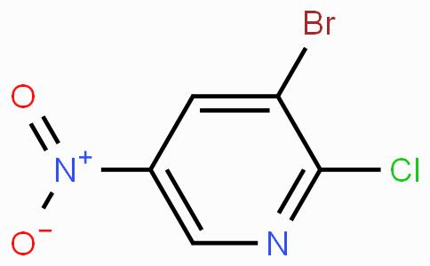 3-溴-2-氯-5-硝基吡啶
